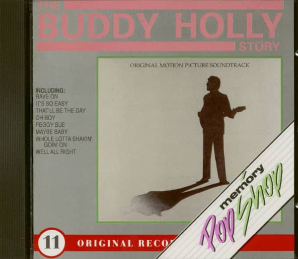The Buddy Holly Story - Original Motion Pictures Soundtrack (CD)