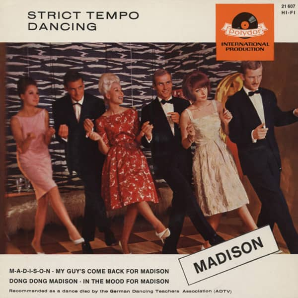 Strict Tempo Dancing - Madison 7inch, 45rpm, EP, PS
