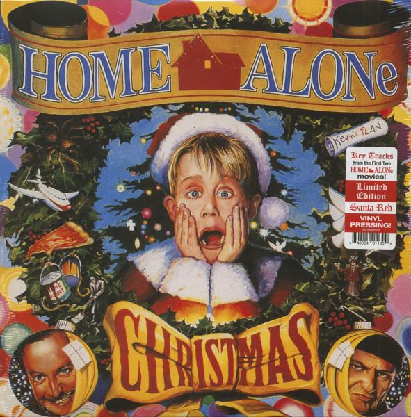Home Alone Christmas (LP, Santa Red Vinyl, Ltd.)