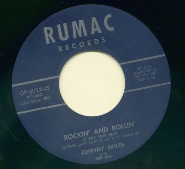 Rockin' And Rollin' - Hard Luck Blues (7inch, 45rpm)n