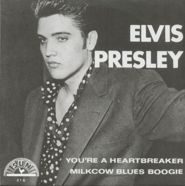 You're A Heartbreaker b-w Milkcow Blues Boogie - 7inch, 45rpm, PS - gold vinyl