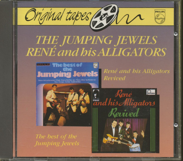 Jumping Jewels - Rene And The Aligators (CD)
