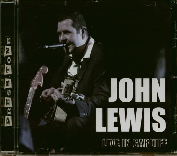 Live In Cardiff - John Lewis Solo (CD)