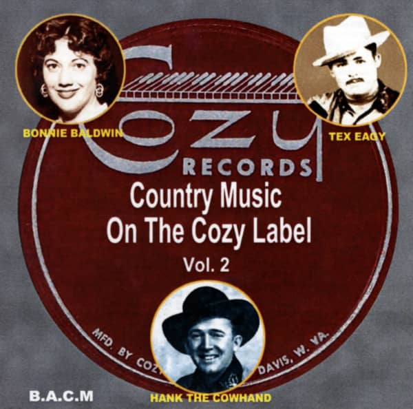 Cozy Label - Classic Country Music Vol.2 (CD)