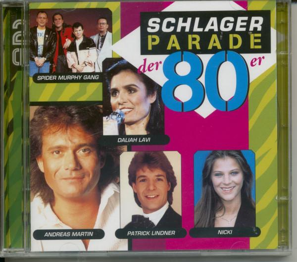 Vol.2, Schlagerparade der 80er 2-CD