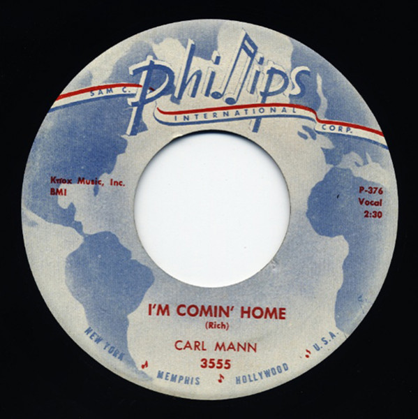 South Of The Border - I'm Coming Home 7inch, 45rpm