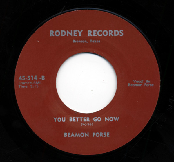You Better Go Now b-w The Rest Of My Life 7inch, 45rpm