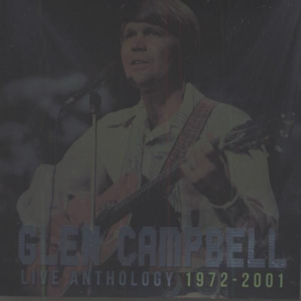 Live Anthology: 1972-2001 (CD-DVD)