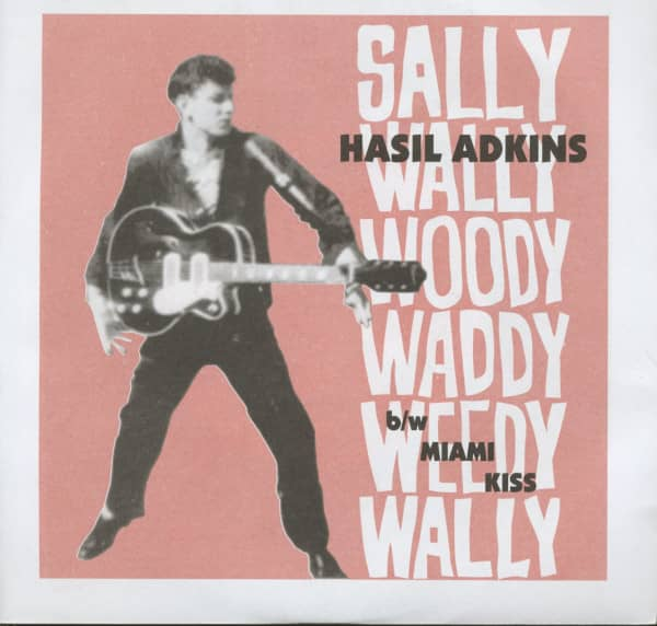 Sally Wally Woody Woody Waddy Weedy Wally - Miami Kiss (7inch, 45rpm, PS)