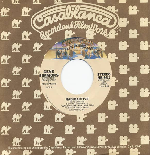Radioactive - See You In Your Dreams 7inch, 45rpm, CS