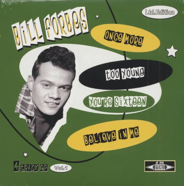 Bill Forbes Vol.1 (7inch, 45rpm, EP, PS)