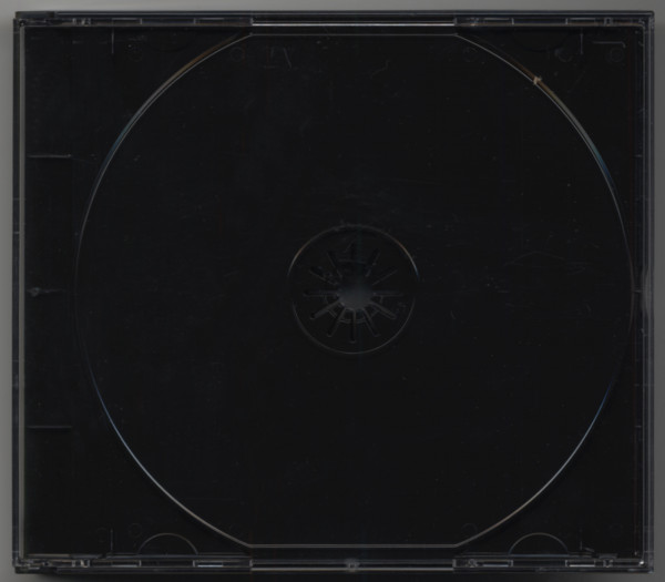 CD multipack with black tray for 3 CDs