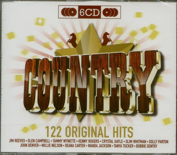 Original Hits - Country (6-CD)