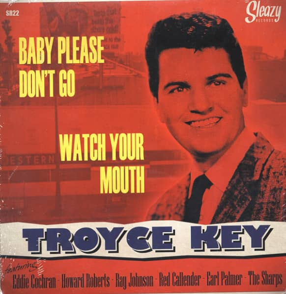 Baby Please Don't Go - Watch Your Mouth (7inch, 45rpm, PS)