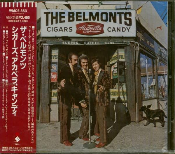 Cigars, Acapella, Candy (CD Japan)