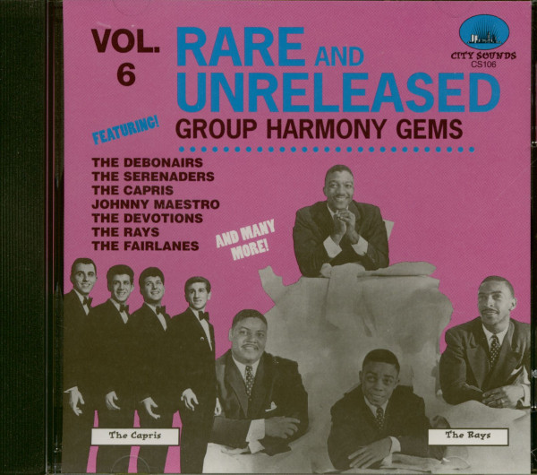 Rare And Unreleased Group Harmony Vol.6 (CD)