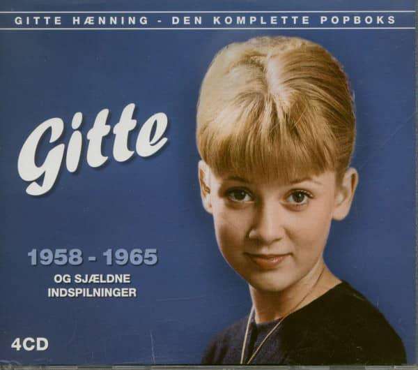 Gitte 1958-1965 Den Komplette Popboks (4-CD)