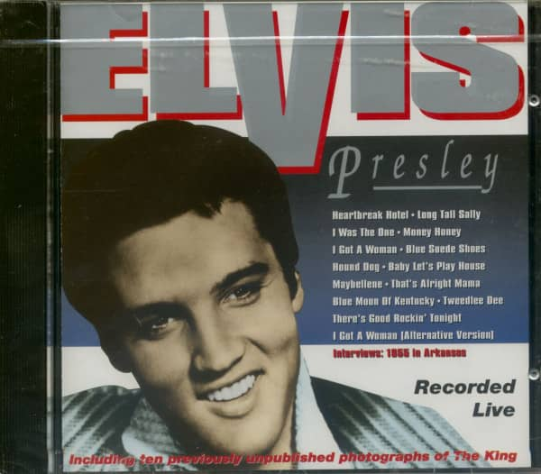 Elvis Presley Recorded Live 1955 (CD)