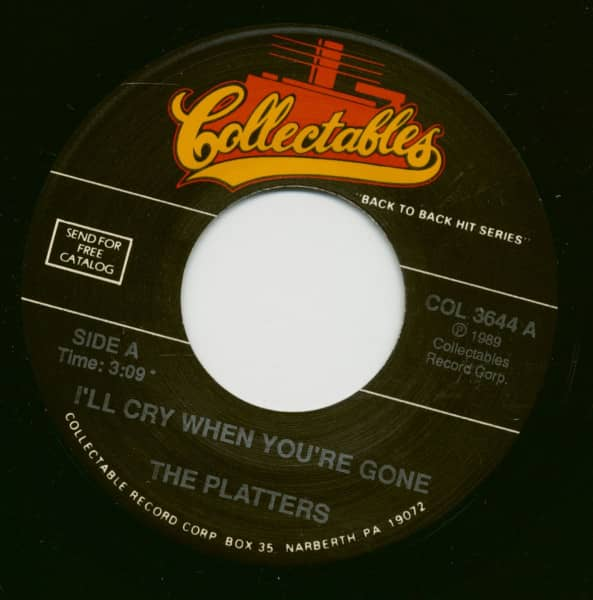 I'll Cry When You're Gone - Voo-Vee-Ah-Bee (7inch, 45rpm)