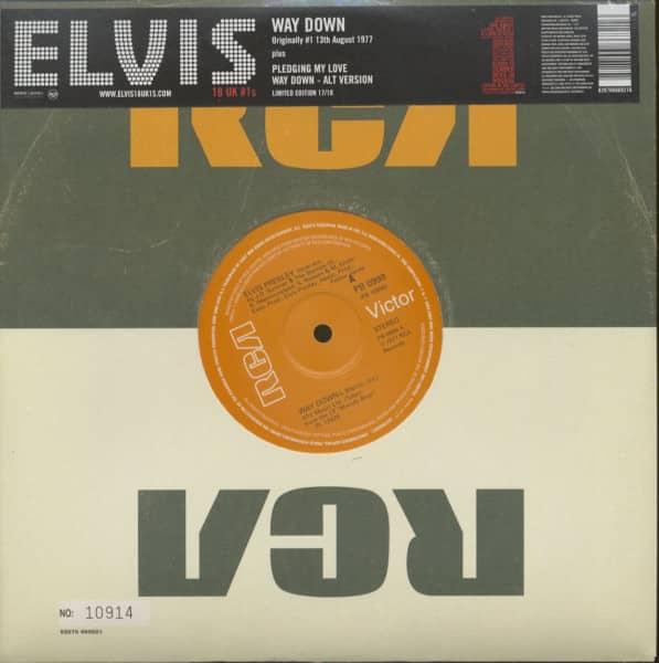 18 UK #1s Vol.17 - Way Down (10inch, 45rpm, Ltd., Numbered)