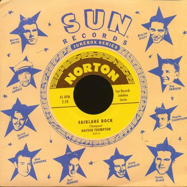 Sun Records Jukebox Series - Hayden Thompson & Ernie Barton (7inch, 45rpm)