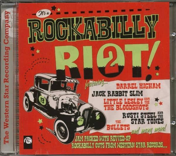 It's A Rockabilly Riot Vol. 2 (CD)