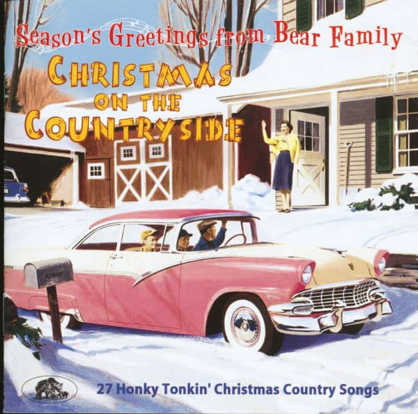 Christmas On The Countryside - 27 Honky Tonkin' Christmas Country Songs (CD)
