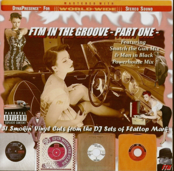 FTM In The Groove Part One (CD)