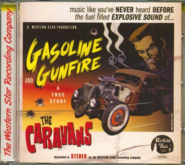 Gasoline And Gunfire (True Story) (CD)