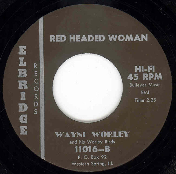 Red Headed Woman b-w To Be Alone 7inch, 45rpm
