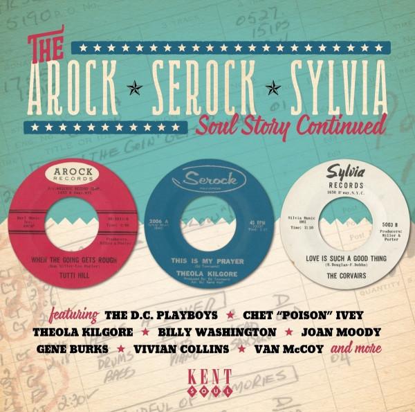 The Arock 'Serock' Sylvia Soul Story Continued (CD)
