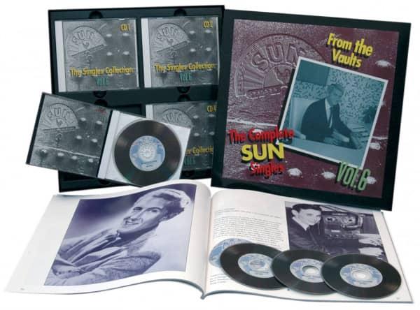The Sun Singles Vol.6 (4-CD & Buch)