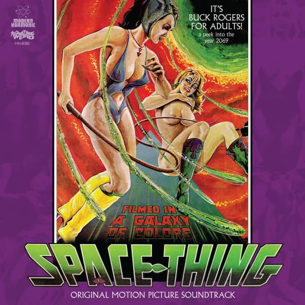Space Thing - Motion Picture Soundtrack (LP & DVD & Insert)