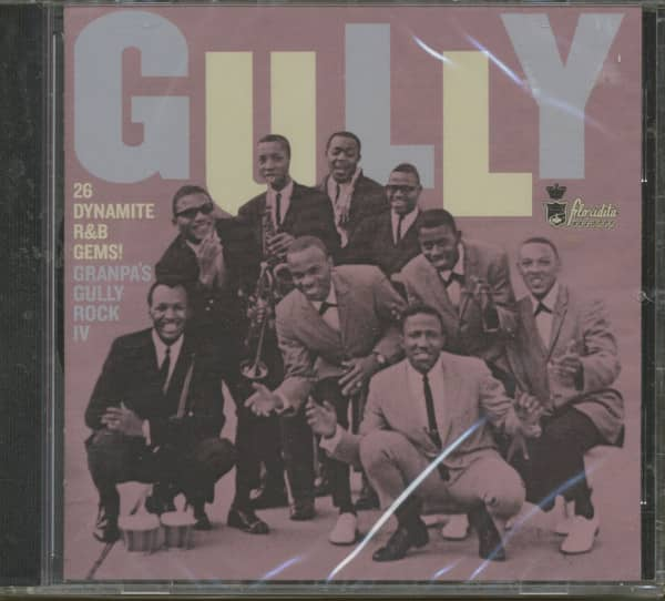 Granpa's Gully Rock - 25 Dynamite R'n'B Gems Vol.4 (CD)