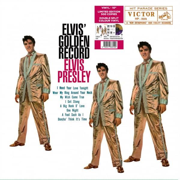 Elvis' Golden Record (LP, 10inch, Split Color Vinyl, Ltd.)