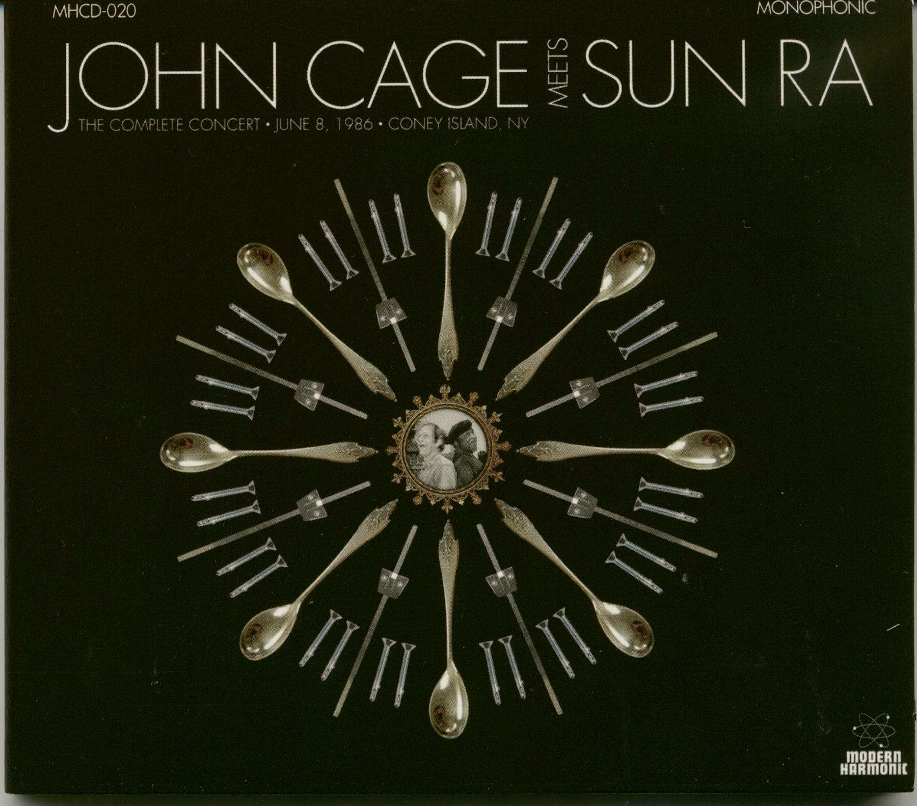 John Cage & Sun Ra CD : The Complete Concert (CD) - Bear Family Records