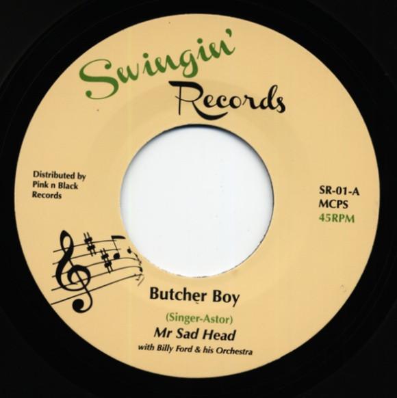 Butcher Boy b-w Black Diamond 7inch, 45rpm