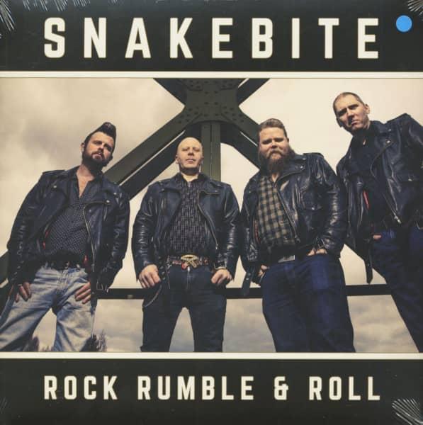 Rock Rumble & Roll (LP, Blue Vinyl, Ltd.)