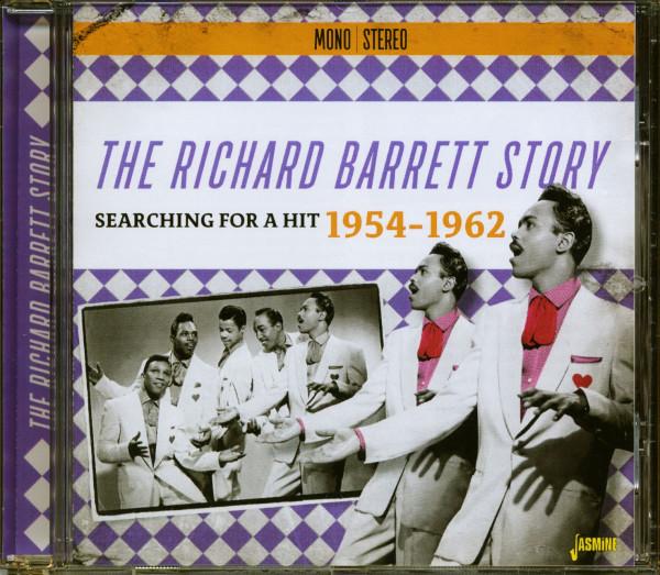 The Richard Barrett Story (CD)
