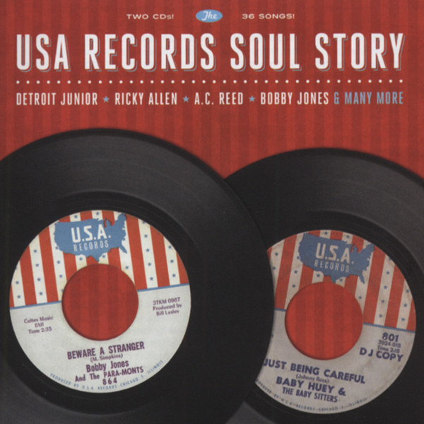 USA Records Soul Story (2-CD)