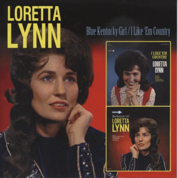 Blue Kentucky Girl - I Like 'Em Country...plus (CD)