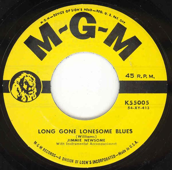 Long Gone Lonesome Blues - I'm Afraid I.. 7inch, 45rpm