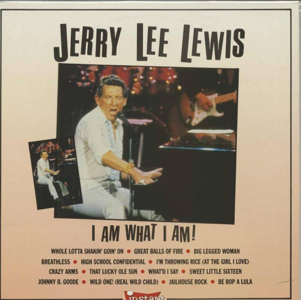 I Am What I Am (LP)