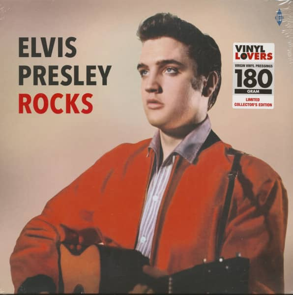 Elvis Presley Rocks (LP, 180g Vinyl)