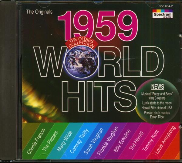 World Hits 1959 (CD)