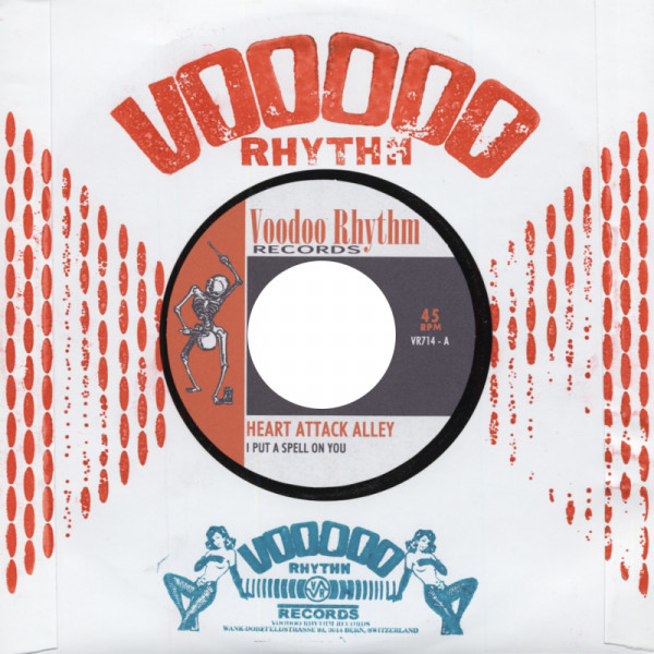 I Put A Spell On You - Cryin' 7inch, 45rpm, CS