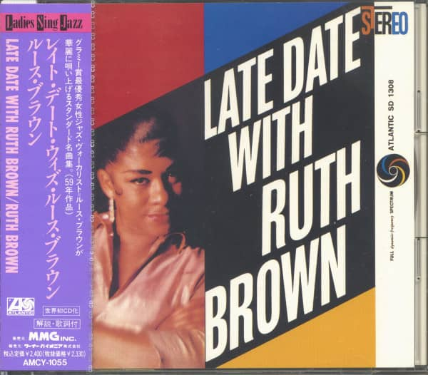 Late Date With Ruth Brown (CD, Japan)