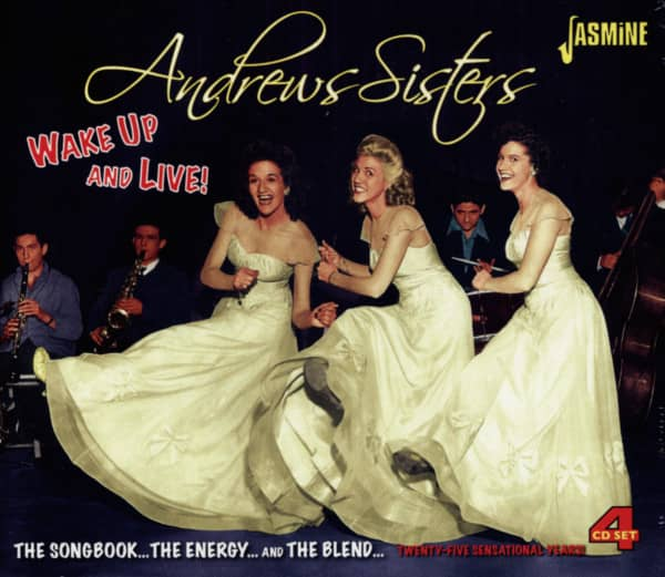 the andrews sisters cd wake up and live 4 cd bear family records