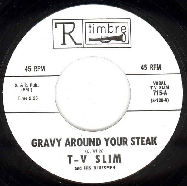 Gravy Around Your.. - Can't Be Satisfied 7inch, 45rpm