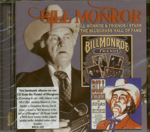 Bill Monroe & Friends - Stars Of...plus (CD)